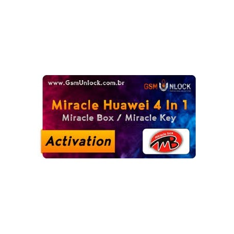 فعال سازی Miracle Huawei 4in1