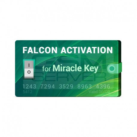 فعال سازی Falcon روی Miracle Key Dongle