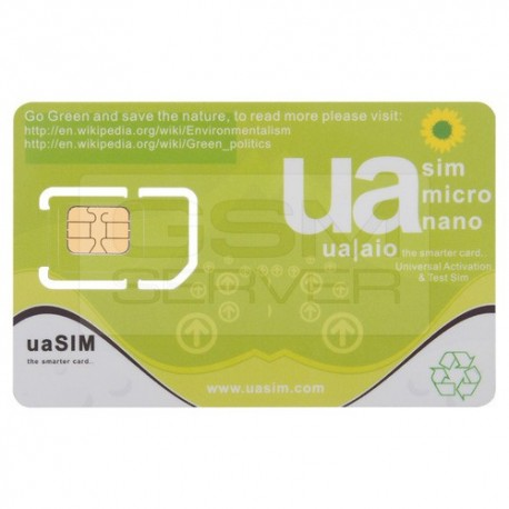UA-SIM Iphone 3G/3GS/4/4S/5/5C/5S/6/6Plus/6S/6SPlus