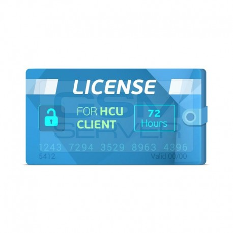 HCU Client 72 Hours License